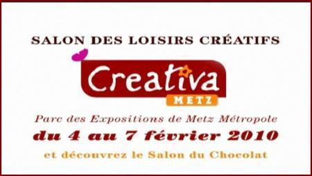Salon cr ativa metz 5 f vrier 2010 paperblog for Salon creativa metz