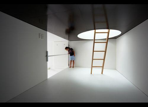 Maison minimaliste ichikawa au japon paperblog for Petite maison minimaliste