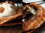 Crêpes châtaigne, fromage blanc et...