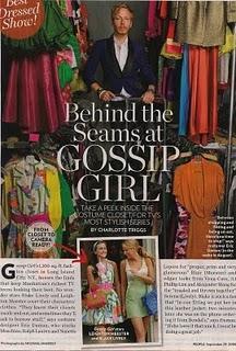 Entrez dans le dressing de Gossip Girl grâce à Eric Daman ...