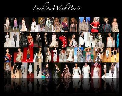 Après les hommes ... enfin la Fashion week Haute Couture à Paris !