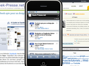 Tester rendu Blog Iphone iPod Touch (sous Windows Mac)
