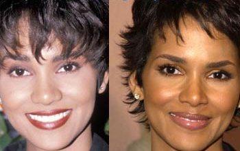 Halle Berry avant et après chirurgie esthétique