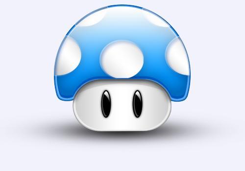 Dessiner son propre champignon de mario paperblog - Dessiner un champignon ...