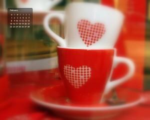 Le fond d'écran calendrier – Février 2010