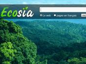 Ecosia, l'écologie appliquée moteur recherche