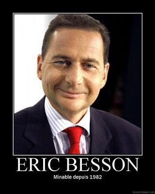 Match Besson/Le Pen