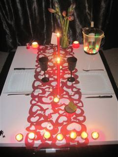 Un diner en amoureux pour la saint valentin paperblog for Decoration porte st valentin