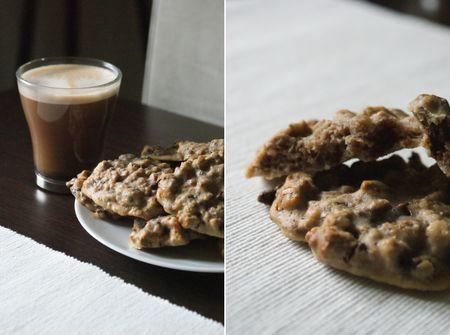cookies au muesli chocolat au lait paperblog. Black Bedroom Furniture Sets. Home Design Ideas