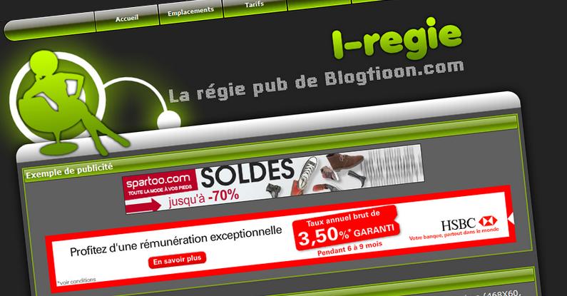 I-regie, la régie publicitaire à petits prix !