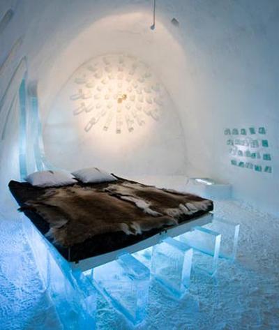 Nuit de noces dans un igloo voir for Chambre de nuit de noce