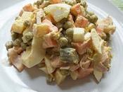 Salade oeufs durs mayonnaise