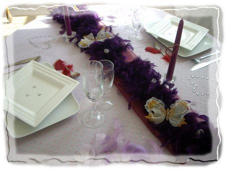 D co table de la st valentin paperblog - Deco de table st valentin ...