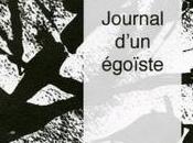 Journal d'un égoïste, Ghilmer