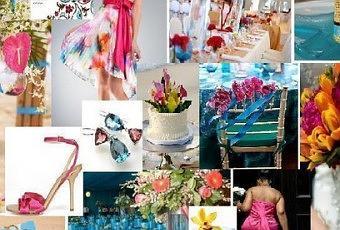 Dà ©coration Mariage Fuschia Blanc Et Argentà © Pictures to ...