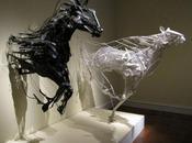 Sculptures recyclées…