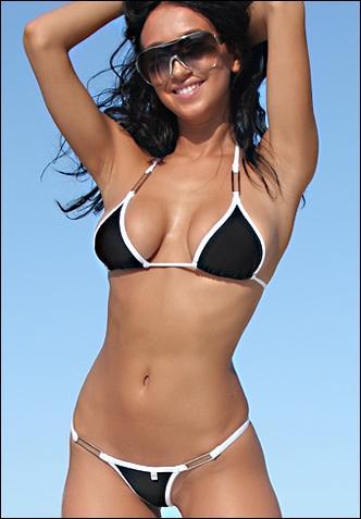 Belle fille en bikini