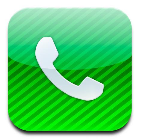 De téléphone par coeur il y a beaucoup plus simple sur l iphone