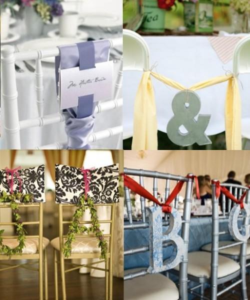 décorations de chaises: des idées pour décorer les chaises