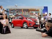 Chevrolet Spark stunt Royaume-Uni