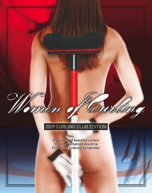 women of curling calendar Le calendrier des femmes du curling
