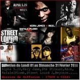 Alpha 5.20 Kery James, Ste Strausz, Akon, Rafale2Plomb, Street Lourd 2, Eminem et Jay Z, Beyonce sont sur RadioGansta du Lundi 01 au Dimanche 07 Frévrier 2010. Restez à l'écoute !