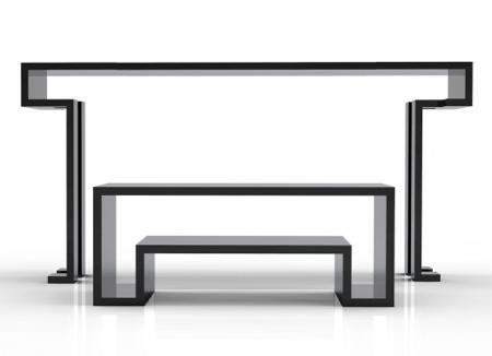 Table transformable MK2 par Duffy London