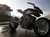 (mobilité durable) concept moto hydrogène pour