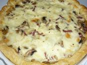 Tarte champignons mozzarella