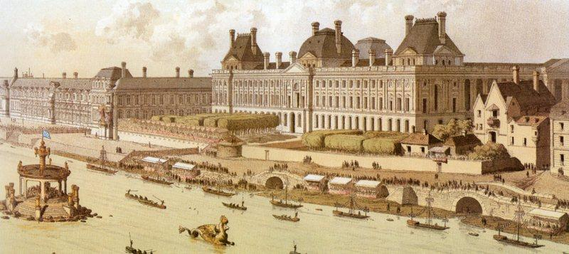 Le louvre du palais au mus e paperblog - Date construction du louvre ...