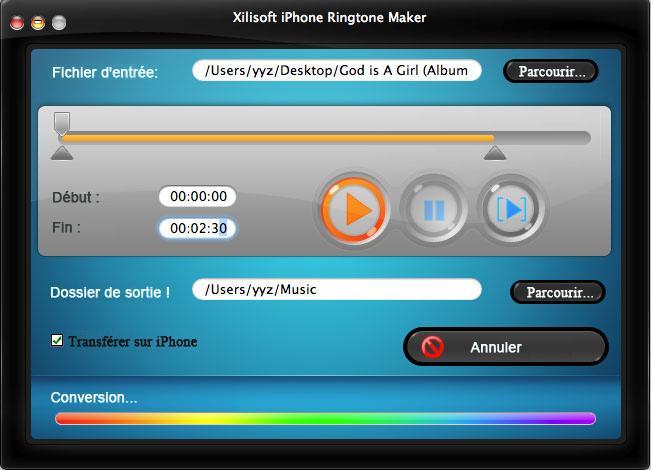 logiciel sonnerie iphone gratuit