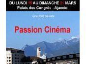 Festival Passion Cinéma d'Ici d'Ailleurs: programme tiendra Palais Congrès d'Ajaccio.