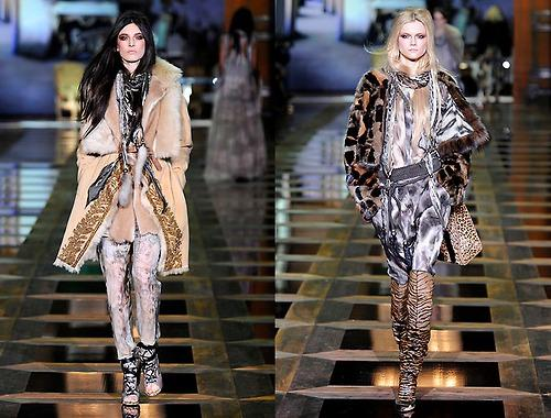 Roberto Cavalli 2010 2011 Fashion Week Milan