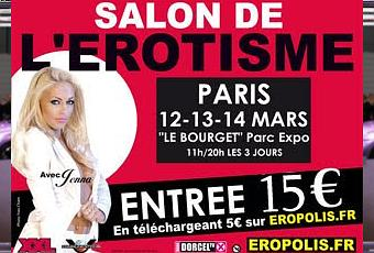 Eropolis le plus grand salon de l 39 rotisme voir for Salon de l erotisme tours