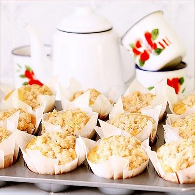 Yes to muffins (orange-cannelle-crumble)