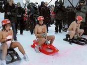 compétition luge topless
