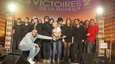 Résultats Victoires de la musique 2010