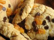 Cookies citron, abricot chocolat Cléa