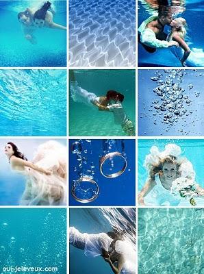 Un mariage sous l 39 eau oui je le veux paperblog for Piscine liberte cambrai