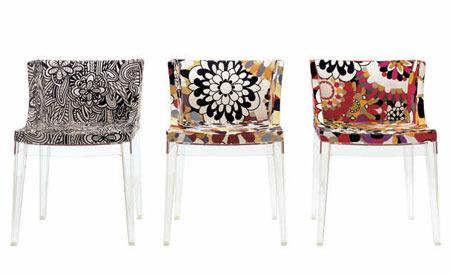 mademoiselle missoni une chaise de philippe starck voir. Black Bedroom Furniture Sets. Home Design Ideas