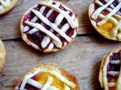 Mini-pies framboise mangue lassi