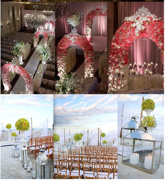 D corations de c r monie de mariage comment mettre en for Decoration ceremonie