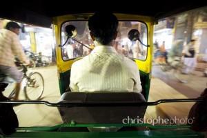 autorickshaw in varanasi, india