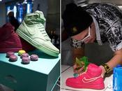 Nike royalty macaron