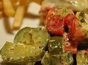 Salade cornichons
