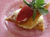 Feuilletés fraises