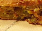 Roulé céleri- branche reblochon Celery cheese roll