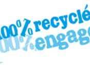 100% recyclé engagé gestion responsable papier