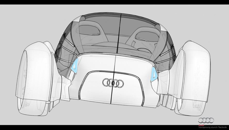 voiture propre audi a0 qs 3 Audi A0 QS, un concept de voiture propre ... encore !?