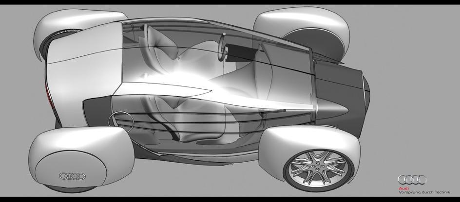 voiture propre audi a0 qs 4 Audi A0 QS, un concept de voiture propre ... encore !?